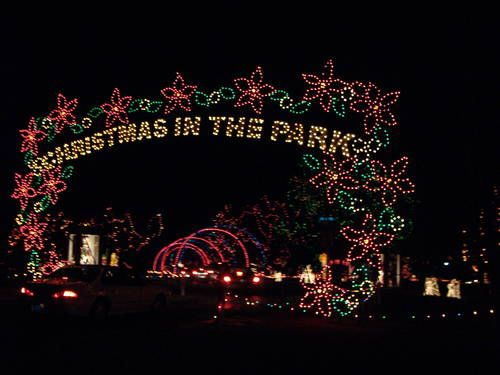 Yukon Ok Christmas Lights.Yukon S Christmas In The Park Image Gallery Home Town