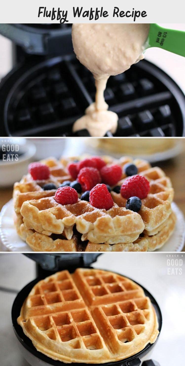 Fluffy waffle recipe waffle recipes sweet potato