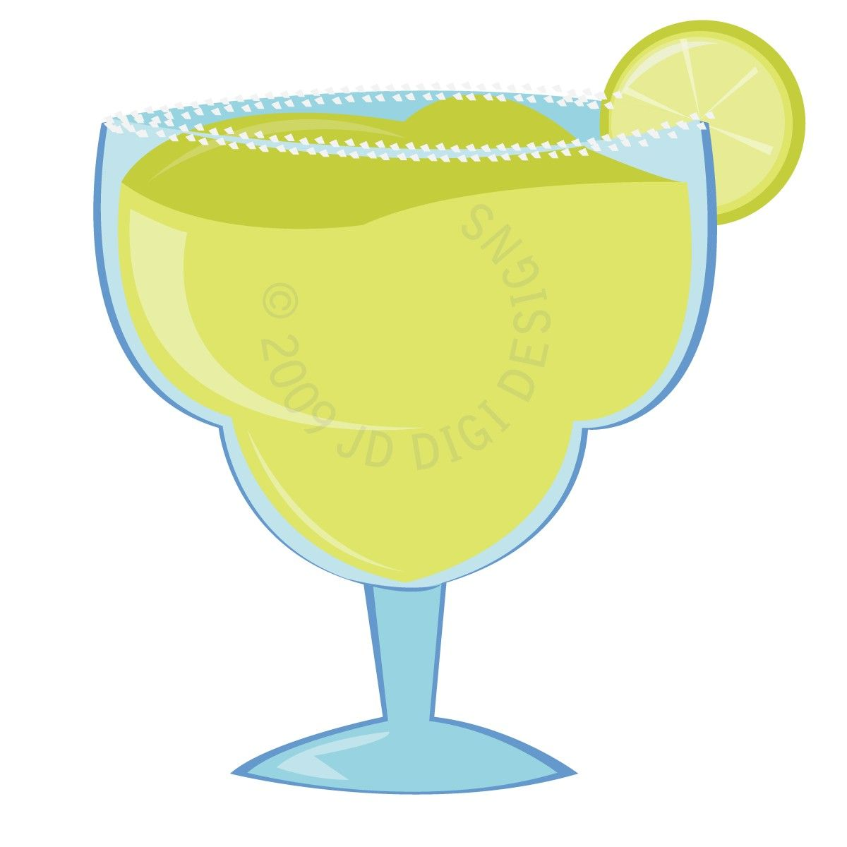 This is a photo of Effortless Margarita Glass Drawing
