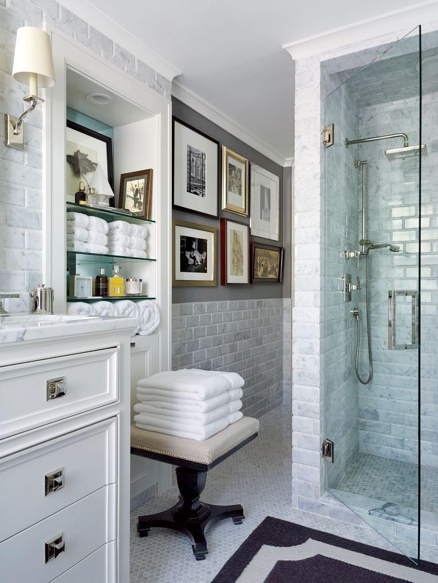 Traditional Bathroom By David Jimenez Via Archdigest Designfile Bathroom Decor Bathroom Inspiration Traditional Bathroom [ jpg ]