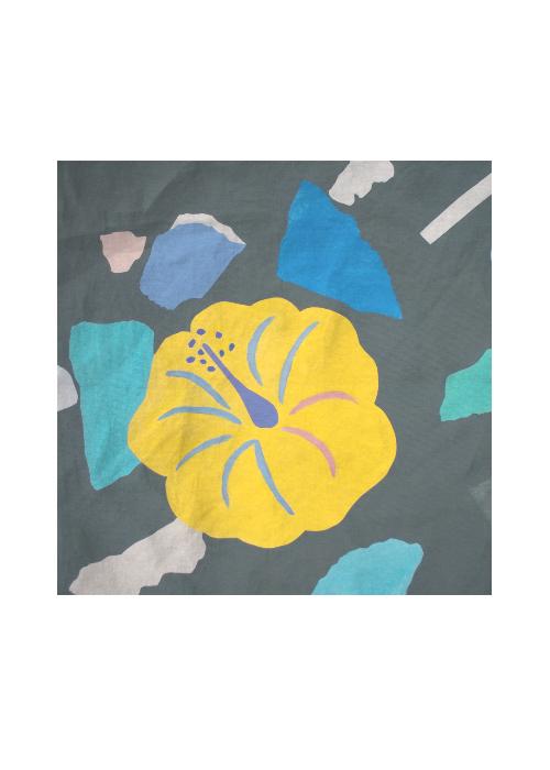 Silk Square Scarf - Floral square scarf by VIDA VIDA 08kTr9DPBu