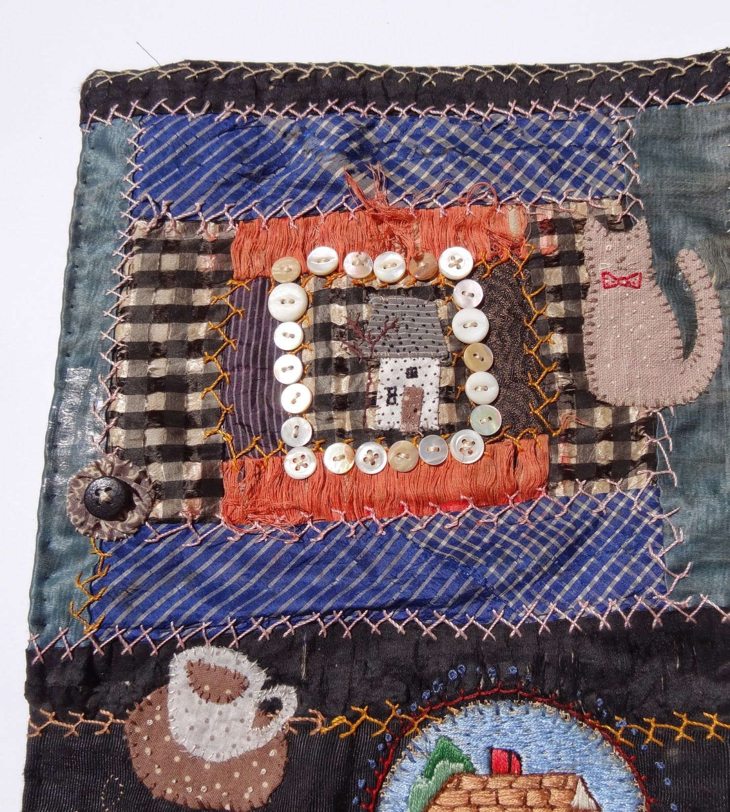 Art Spirit: Playing with Fiber Lovely work on this link!