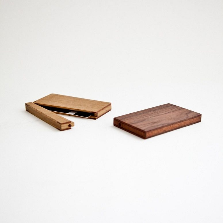 Business card case. Gonna get one of these when I\'m done with law ...