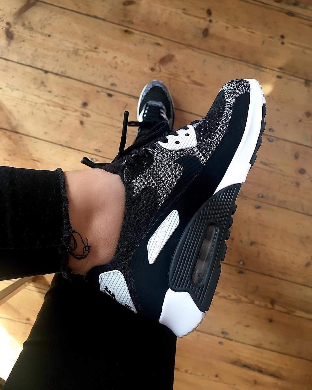 Nike Airmax 90 X Ultra Flyknit Sneakers Fashion Running Shoes For Men Sneakers