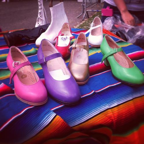 Zapato de folclor mexicano Beautiful Mexican folklorico shoes