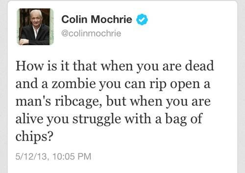 Zombies Colin Mochrie Funny Quotes Quote Of The Week