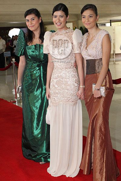 RED CARPET PART 2: Filipiniana takes centerstage at SONA 2012 | Gallery | PEP.ph: The Number ...