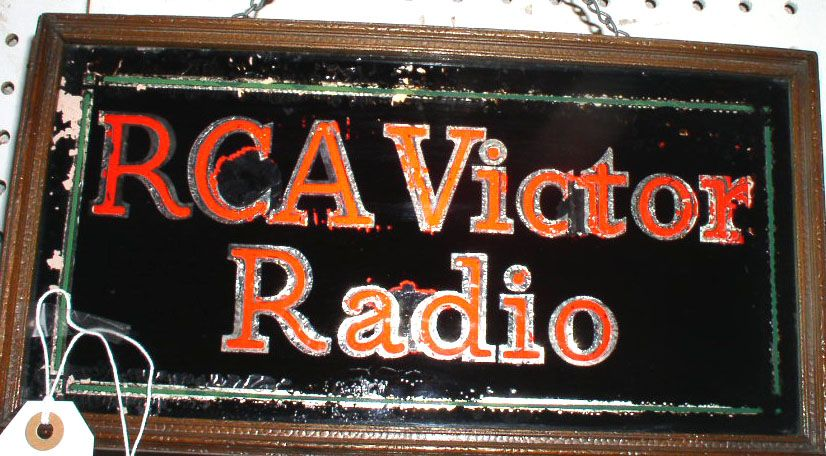 Rca Victor Radio Lighted Sign 395 Neon Signs Signs