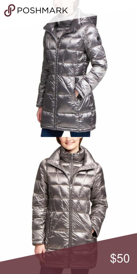 Ladies Andrew Marc Premium Packable Down Jackets New
