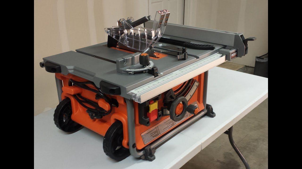 Ridgid R4510 Vs R4512 Vs R4513 Vs R4516 Table Saw What Works