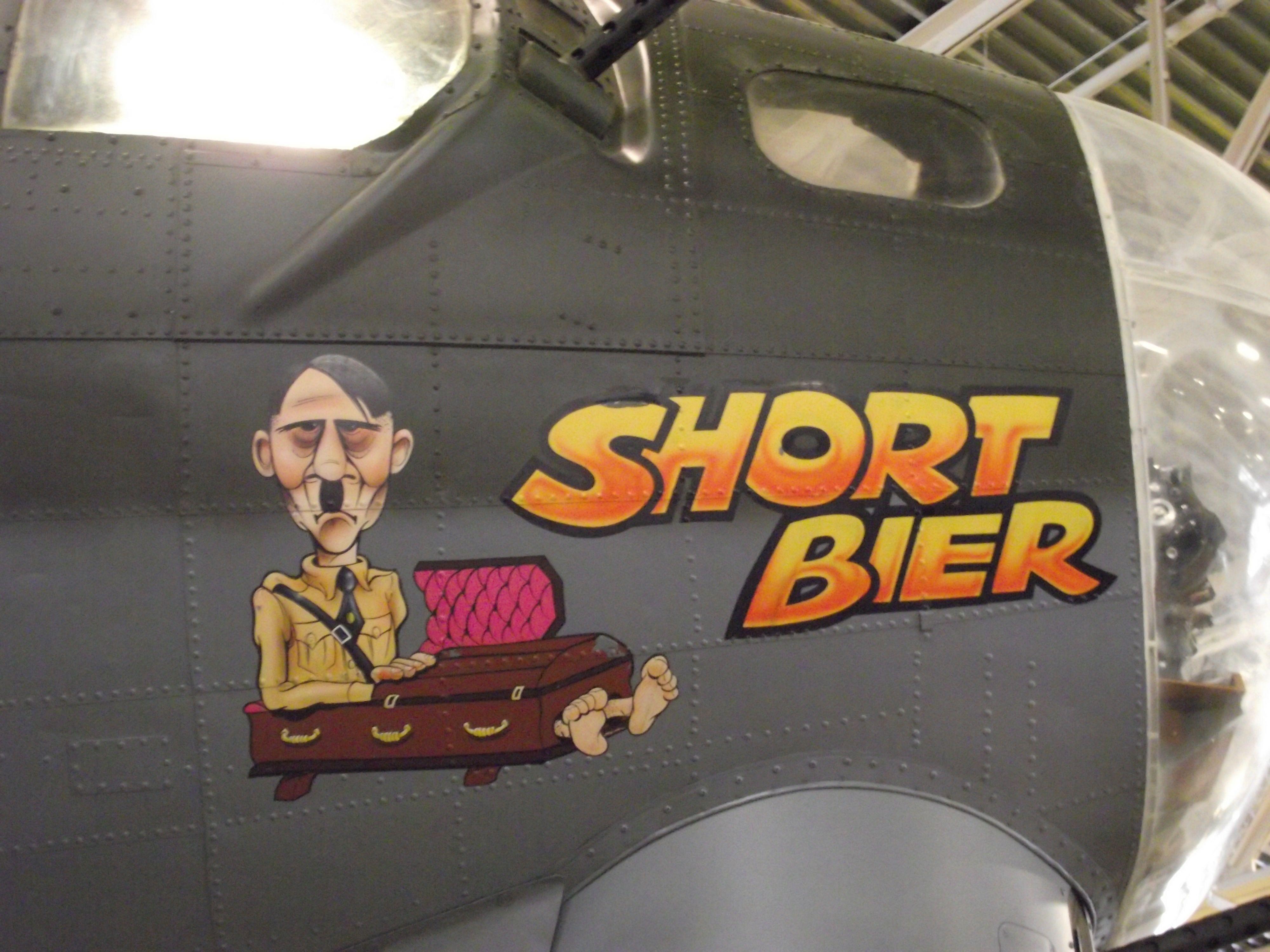 Short Bier, B17 Flying Fortress at Hill AFB Museum, Utah