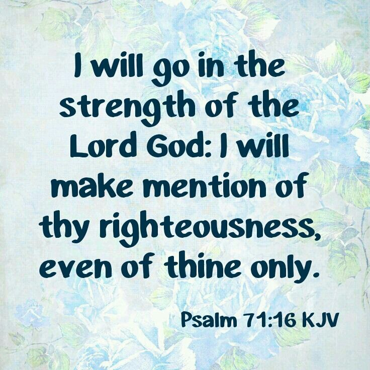 psalm 71 16 kjv kjv scripture tlc creations