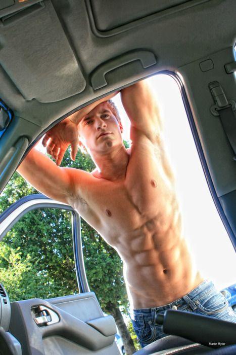 Naked sex car Men in the