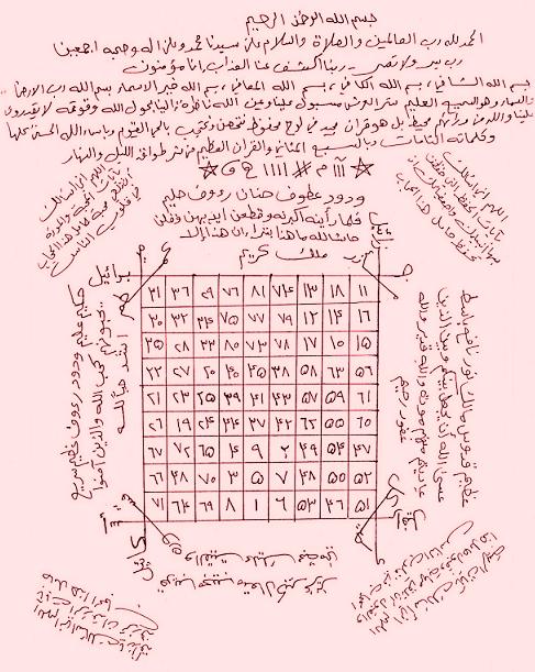 حرز التاج pdf