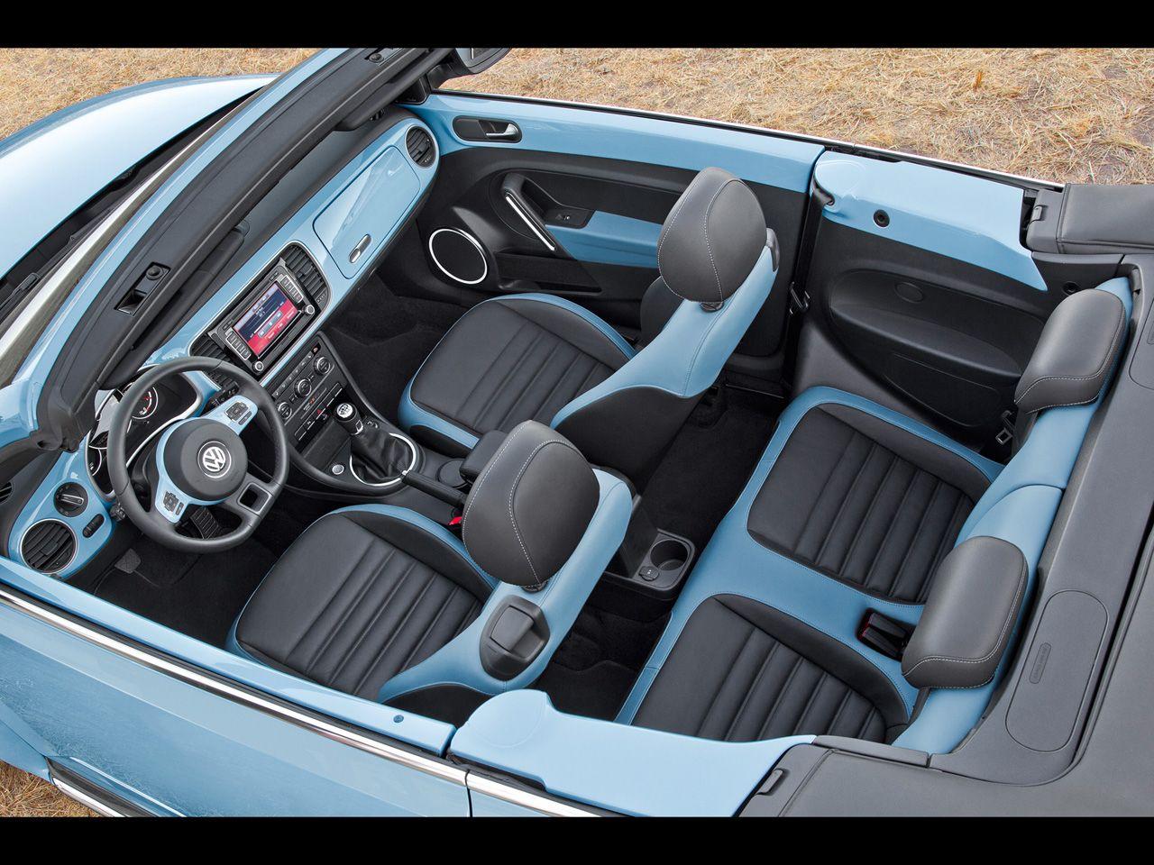 2013 Volkswagen Beetle Cabriolet Special Editions 60s Edition Interior 2 1280x9 Volkswagen Beetle Volkswagen Beetle Accessories Volkswagen Beetle Cabriolet