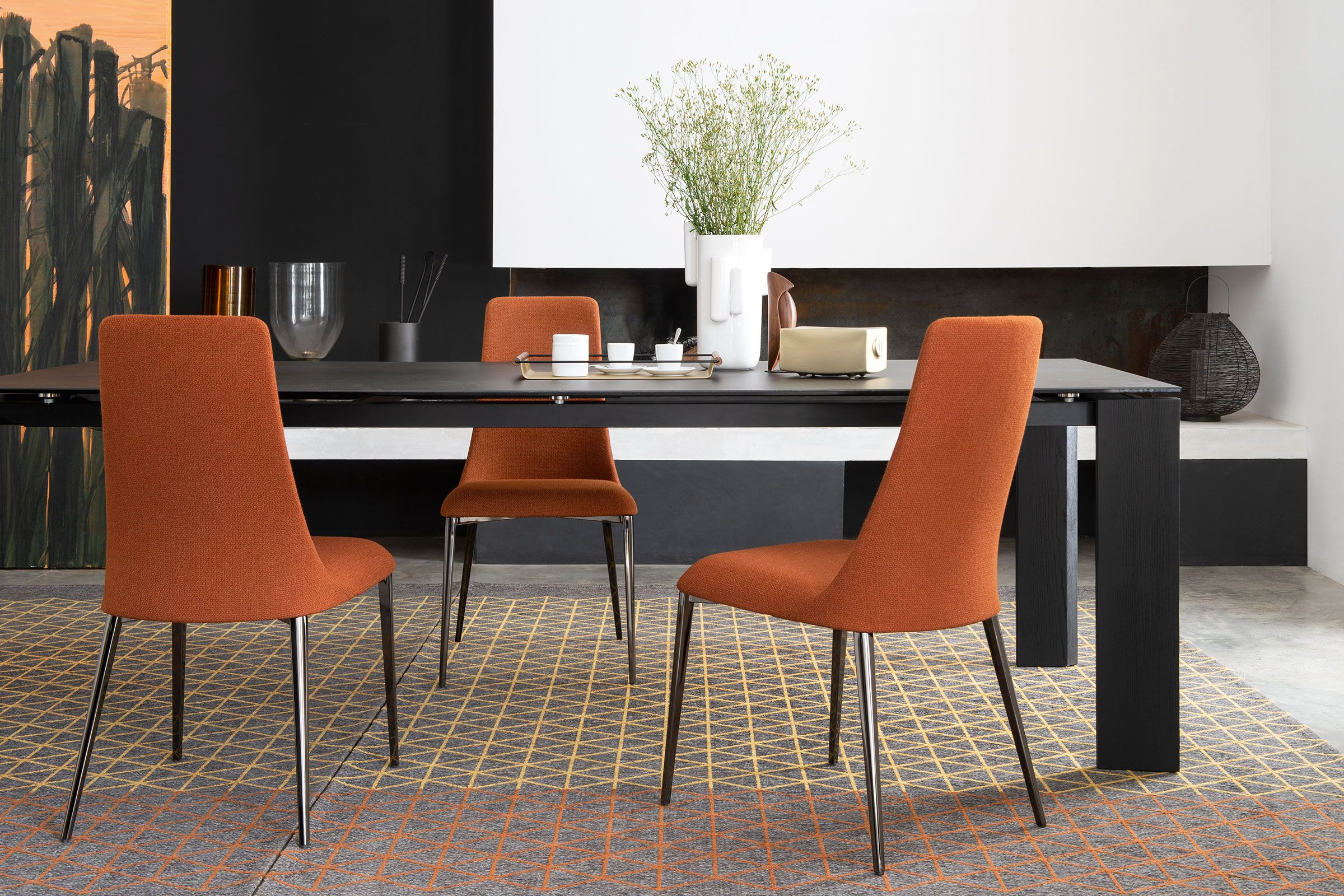 boulevard extendable contemporary dining table calligaris toronto rh pinterest com