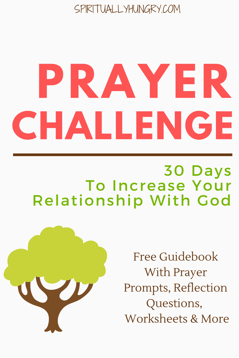 30 day prayer challenge fandeluxe Gallery