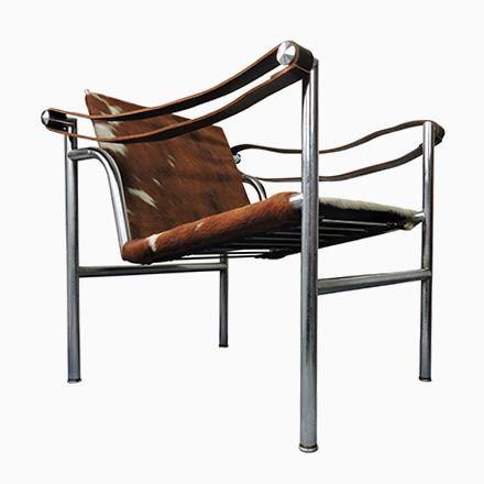 Italienischer Mid-Century Kuhfell Stuhl von Le Corbusier für - esszimmer italienisch