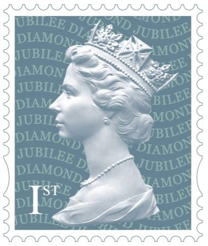 Diamond Jubilee Stamps  Miniatures  Pinterest Diamond