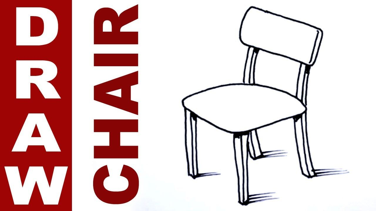 How To Draw A Chair Chair Drawing Art Chair Chair