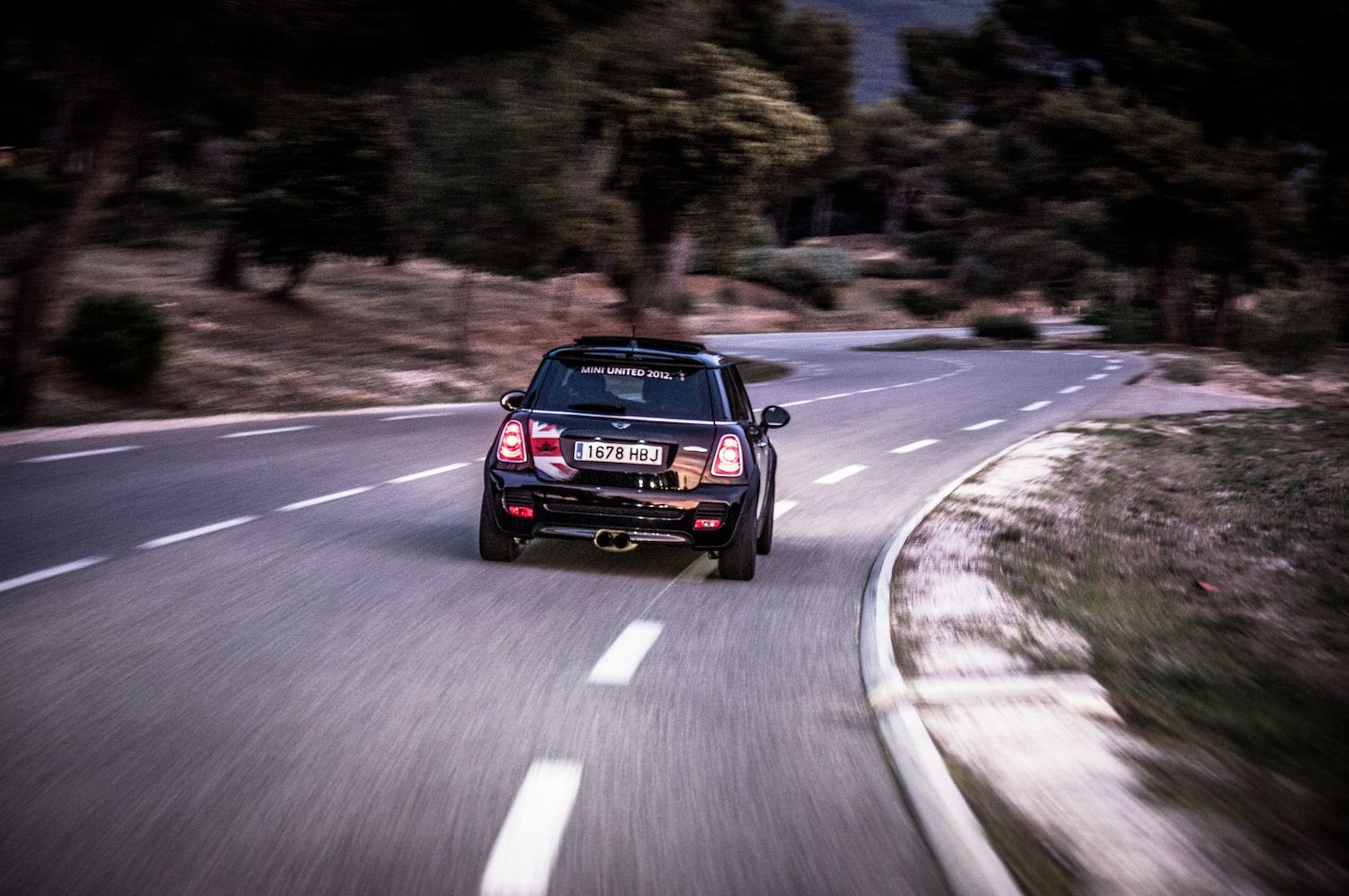 On the road to Le Castellet, France for MINI United 2012