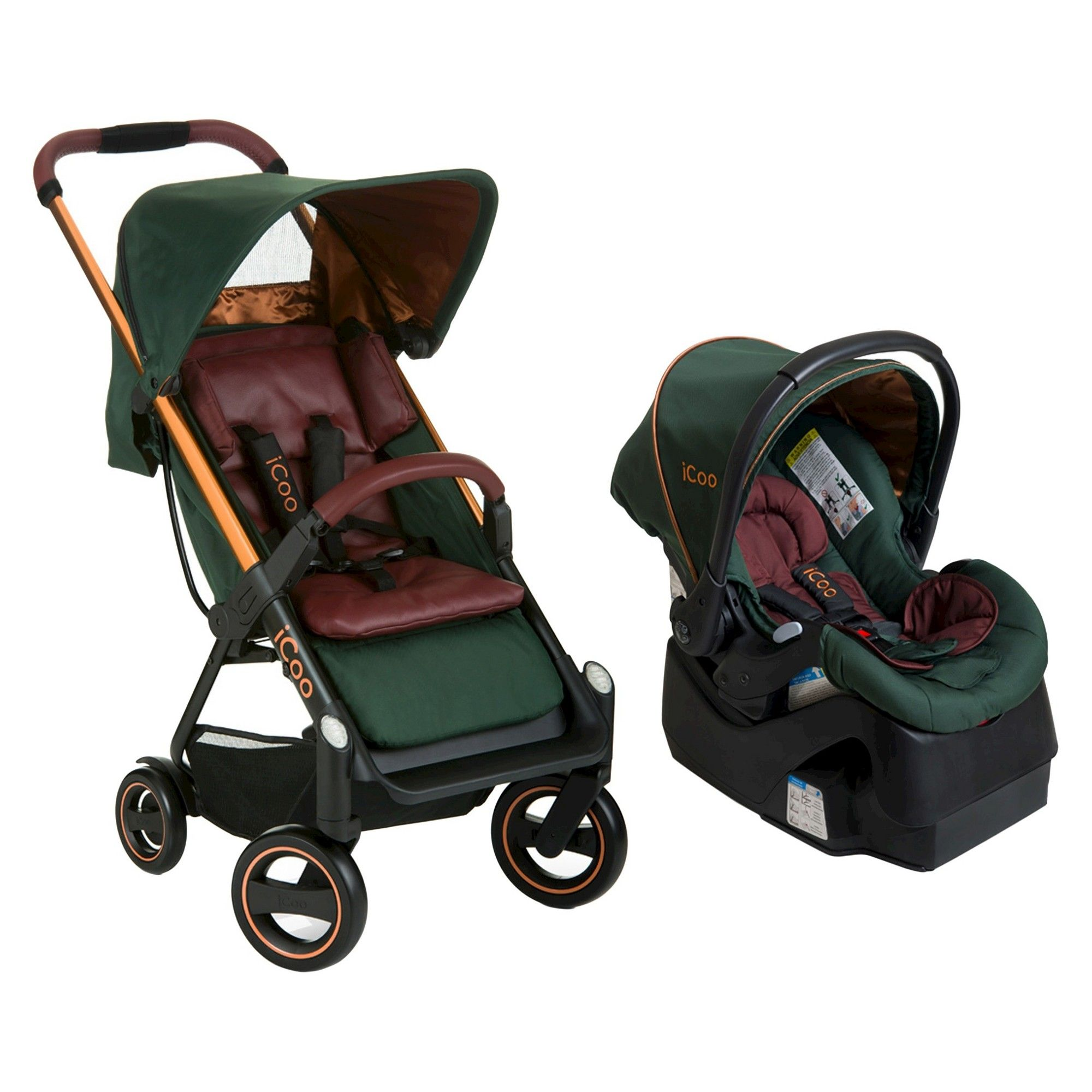 Maxi-cosi Adorra Travel System - Graphic Flower Icoo Acrobat Iguard 35 Infant Seat Copper Green Products