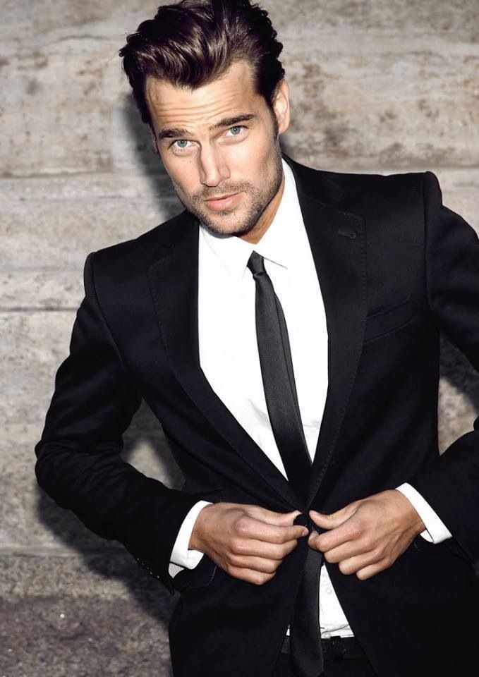 20 Best Black Suit For Men | Black suits and Men's fashion