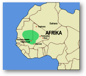 The Ghana empire existed from the third century CE to 1076, when ...