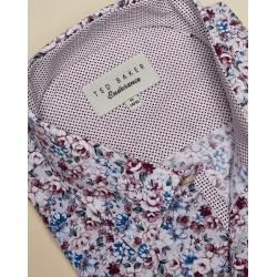Cotton shirt with floral print Ted Baker#baker #cotton #floral #print #shirt #ted