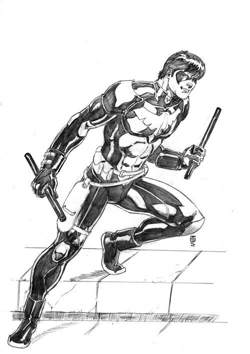 Nightwing: Young Justice by Jean Sinclair