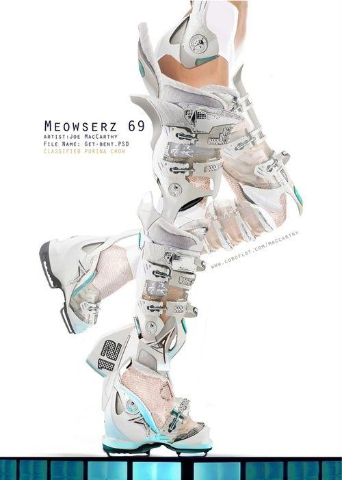 "Boots. Concept art. ""Meowserz 69"", by Joe MacCarthy"