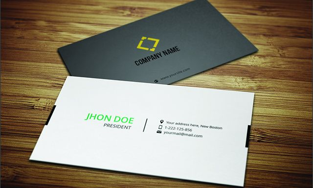 Easy Editable Stylish Corporate Business Card Template Available - Easy business card template