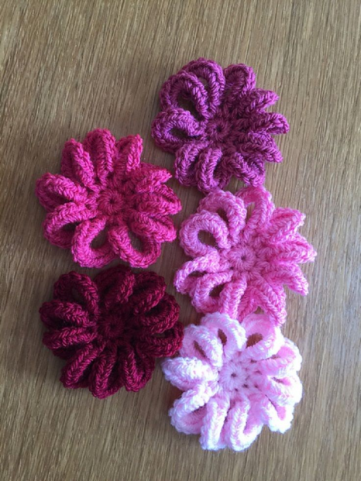 Loopy Flower Free Crochet Pattern - 11 Easy and Simple Free Crochet ...