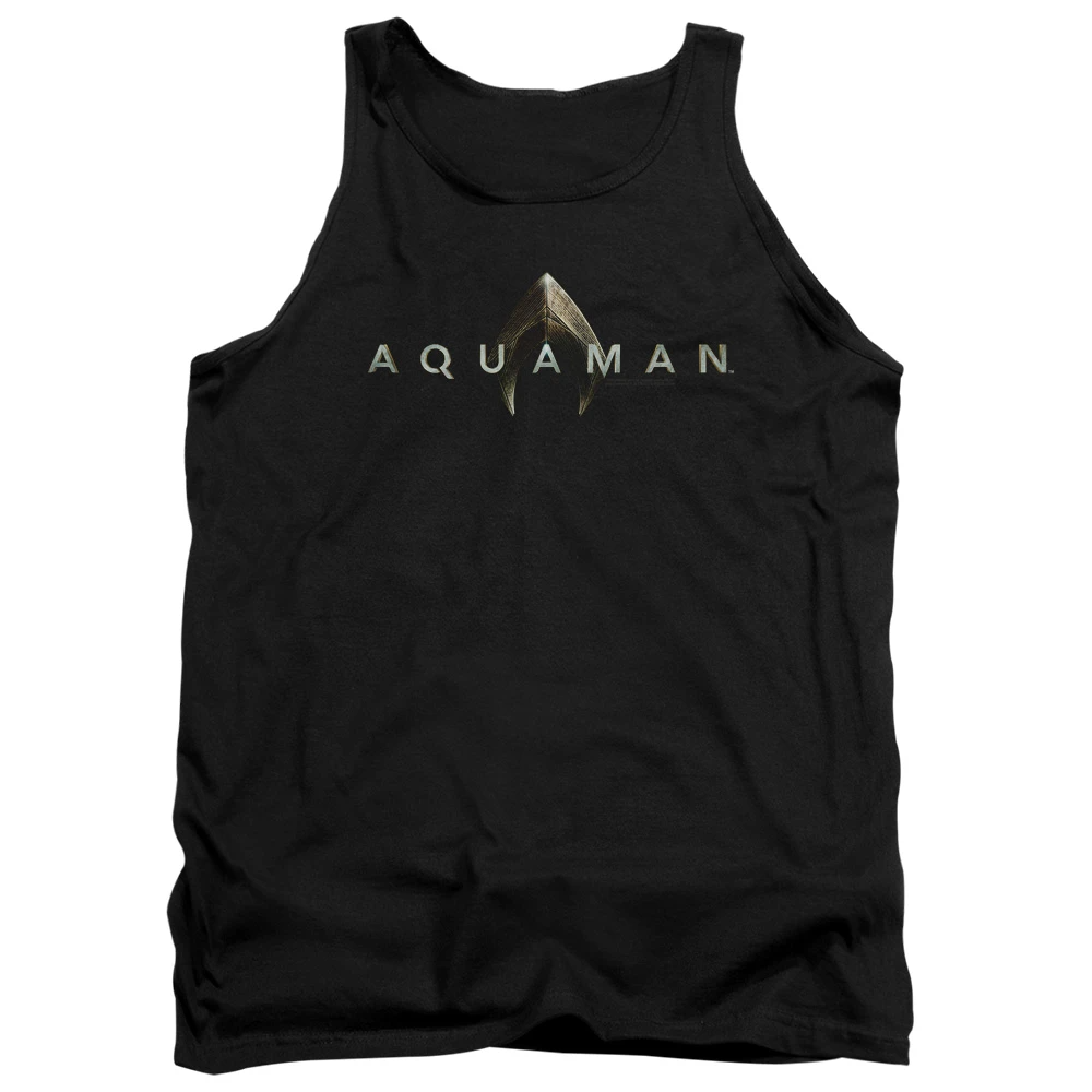Aquaman Movie Logo Tank Top Tops Tank Tops Mens Tank Tops