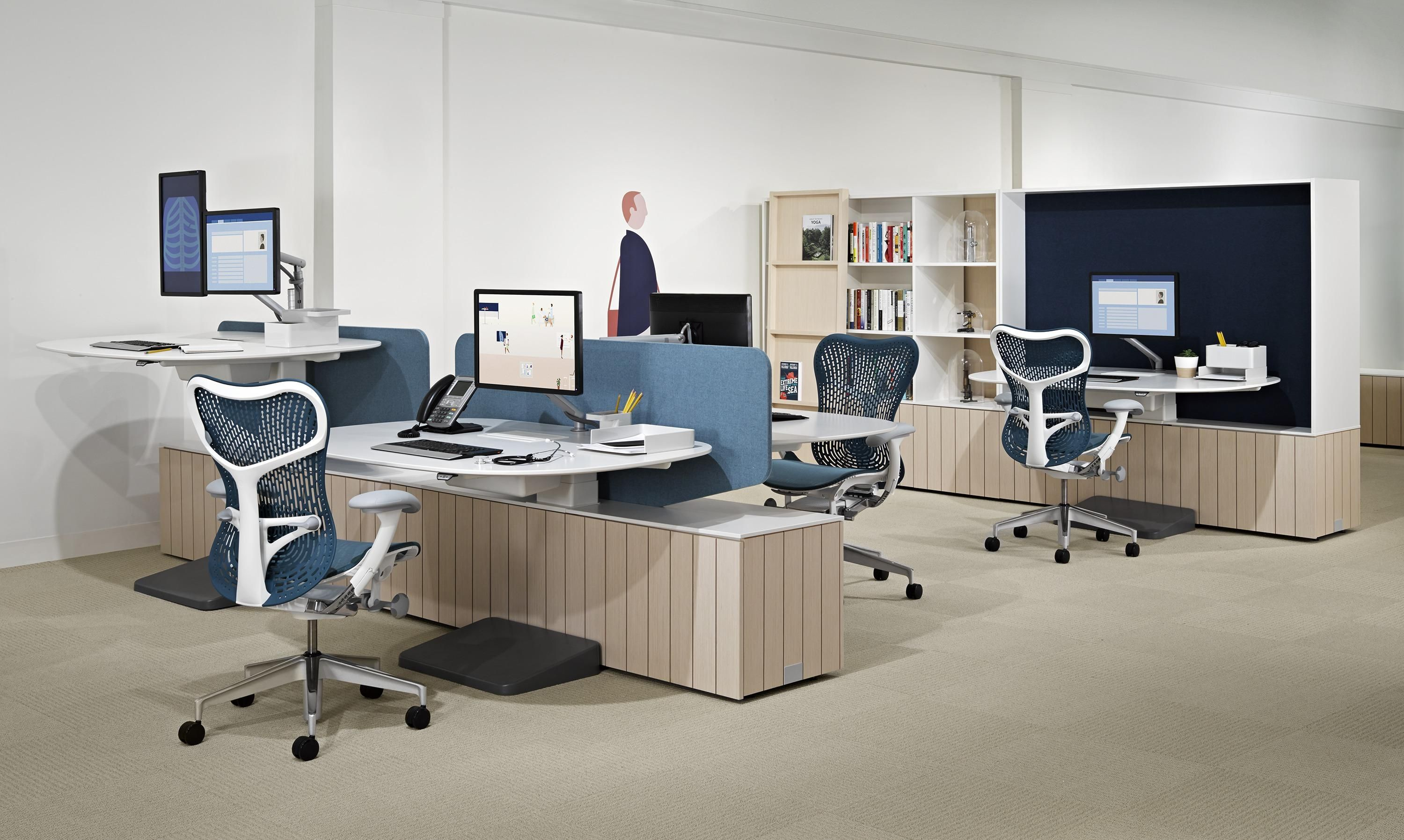 Herman Miller - Locale   The Complete Furniture Package