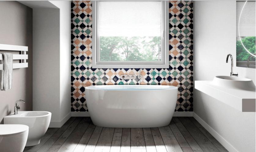 Vasca Da Bagno Ghisa Con Piedini : Bagno accogliente e funzionale ecco come realizzarlo. bagno