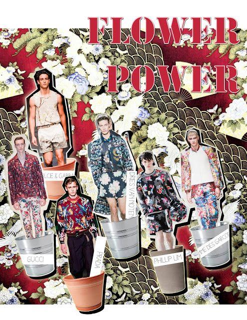 ModaPty: #Trend :Flower Power - Menswear - Spring Summer 2014! by #TuPost