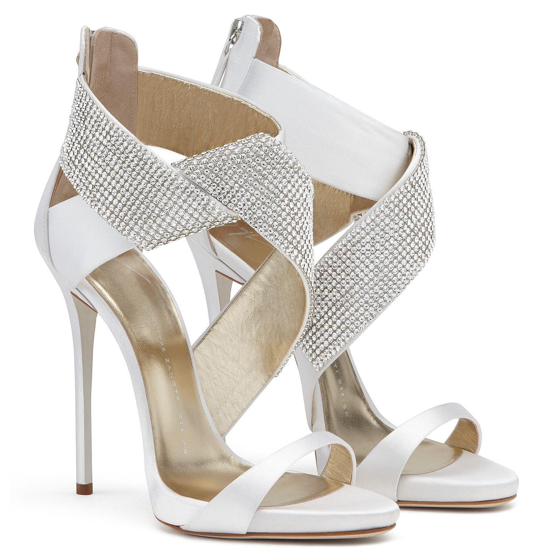 Sandali Ella, colore Bianco   Giuseppe Zanotti   shoes