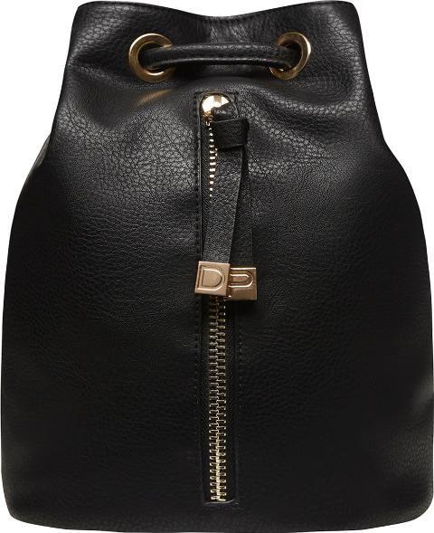 Womens Black Zip Front #Backpack Black #fashion #fashionista #style #womenwear #lfw #obsessory #black #handbag #dorothyperkins #sale