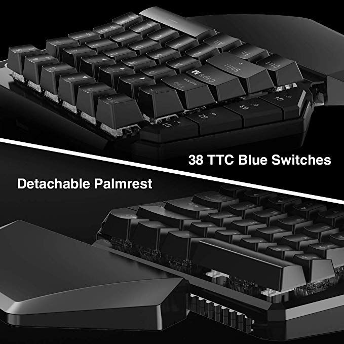 a19275ccd07 Gaming Keyboard and Mouse for Xbox One, PS4, PS3, Nintendo Switch PC ...