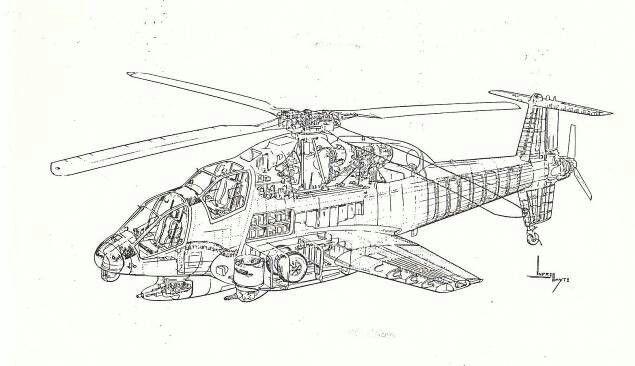 nice cutaway of the sikorsky s 67 blackhawk combat helicopter Blackhawk Tactical Vests