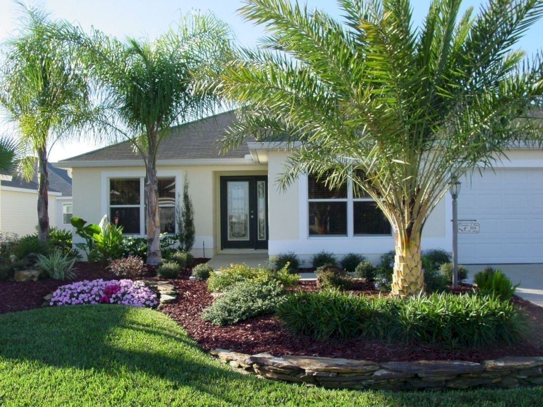 Beautiful Small Front Yard Landscaping Ideas 24 Decoraiso Com Florida Landscaping Small Front Yard Landscaping Farmhouse Landscaping