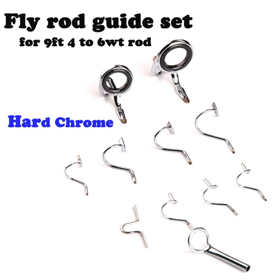 Maximumcatch Fly Fishing Rod Guide Tip Repair Kit Set DIY Eye Rings ...