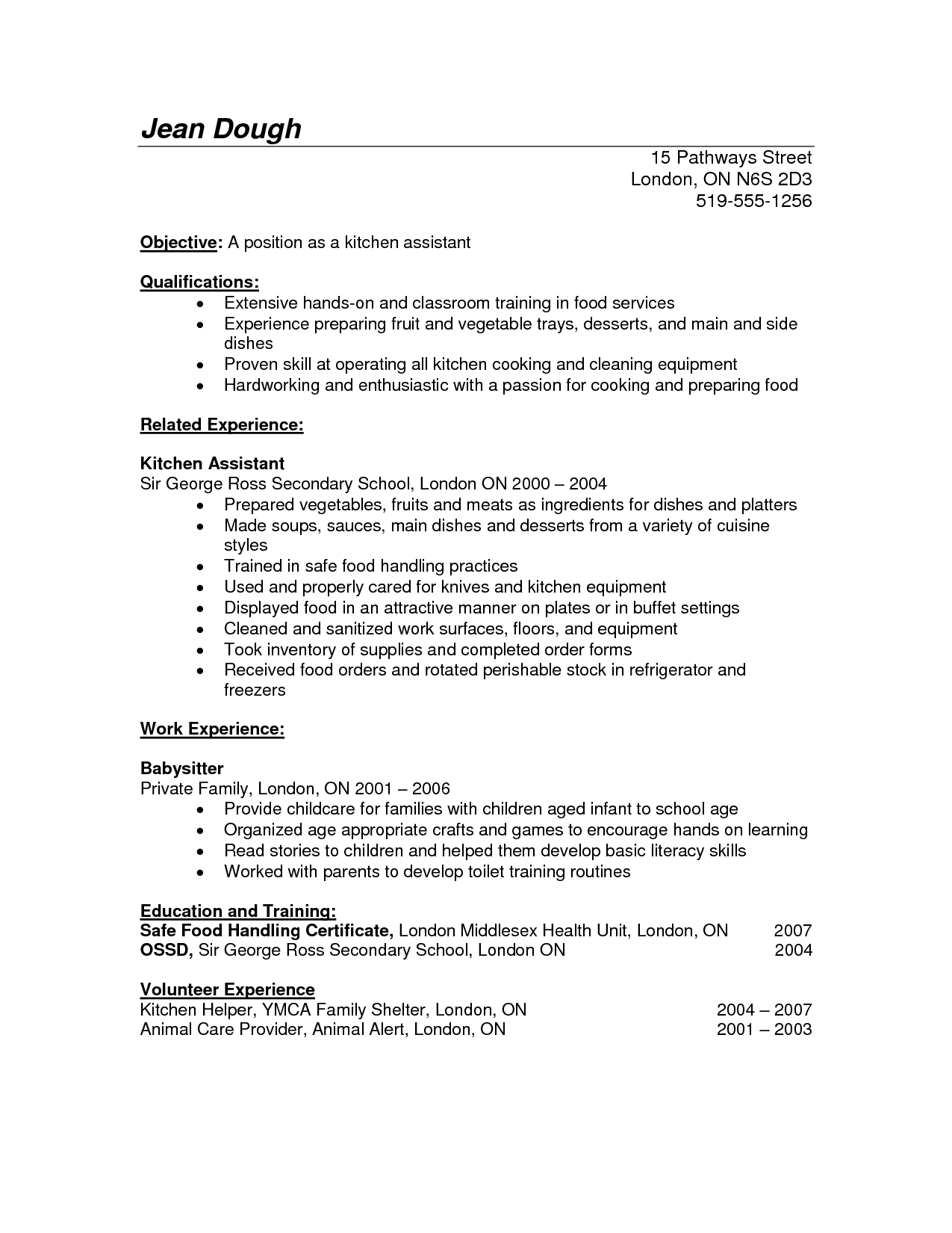 Resume examples kitchen helper resume examples pinterest cover resume examples kitchen helper examples helper kitchen resume resumeexamples spiritdancerdesigns