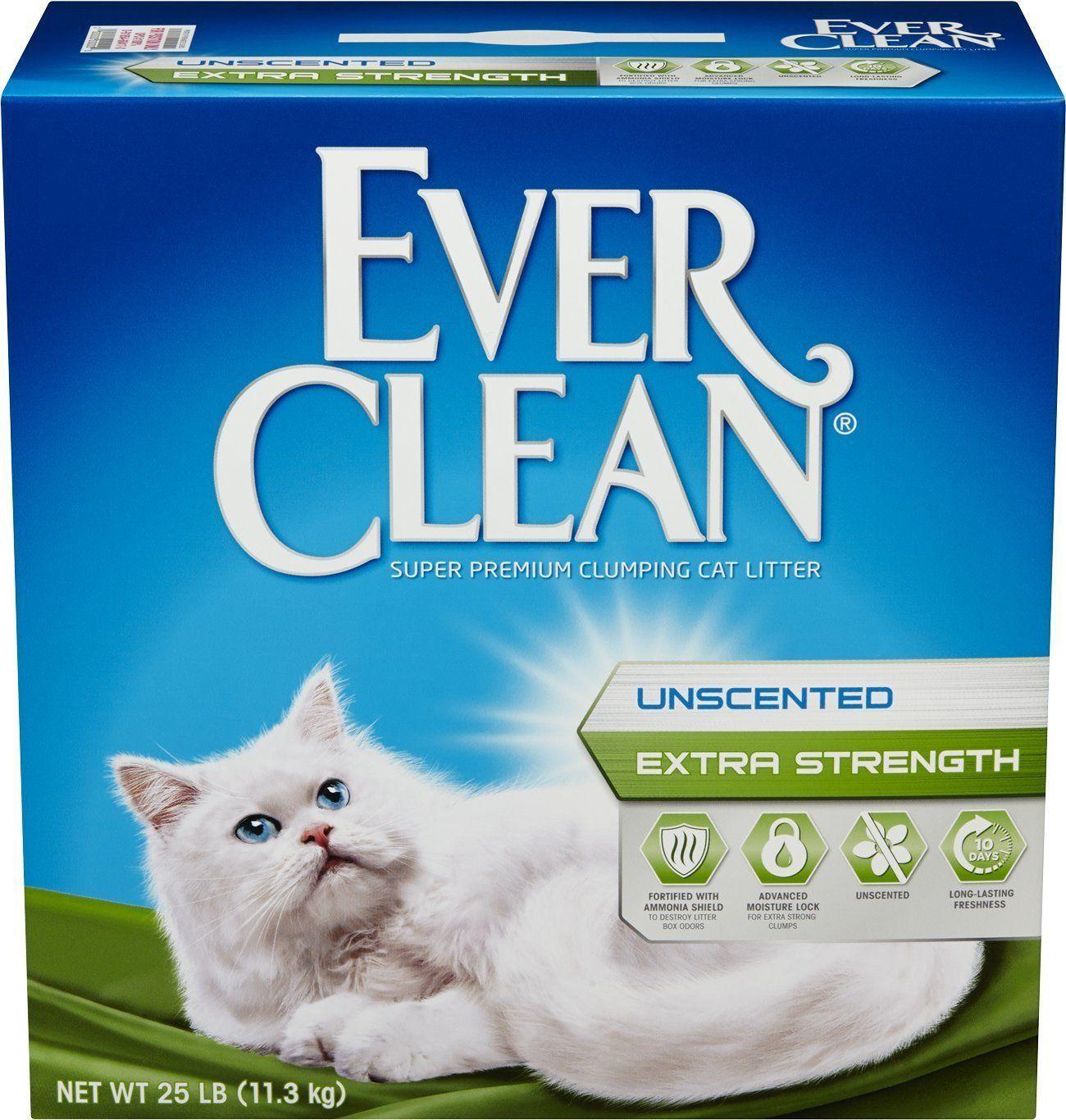 Ever Clean Cat Litter 25 Pounds EverFresh Cat litter