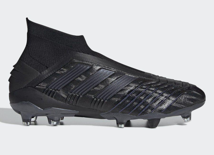 Adidas Predator 19 Fg Dark Script Core Black Core Black Utility Black Footballboots Adidasfootball Adidas Predator Football Boots Adidas