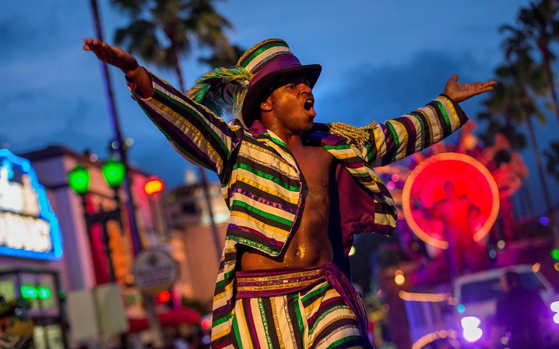 Evento Mardi Gras Universal Orlando Resort