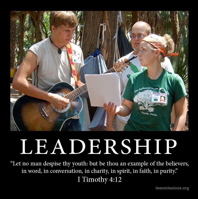 Teen Missions International—LEADERSHIP