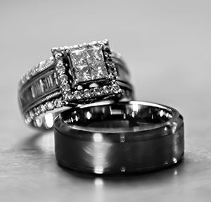 Insuring Your Wedding Rings Black Wedding Rings Black Rings Black Hills Gold Jewelry