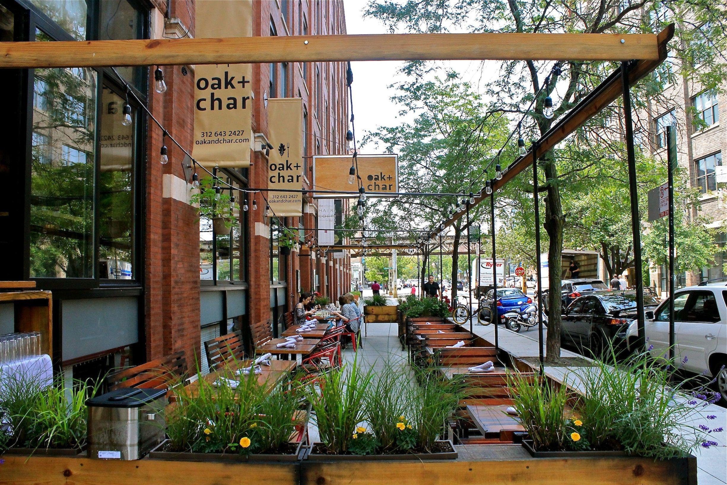 New Outdoor Seating In Chicago Restaurant Scene